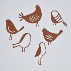 Vtáčiky, sliepočka Hnedá 6 ks
