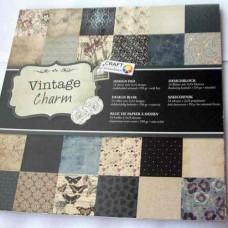 Vzorovaný papier 30x30 Vintage