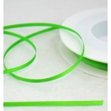 Saténová stuha 3 mm Zelená svetlá