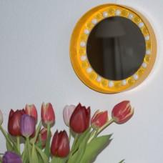 Zrkadlo mozaika Žltá