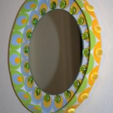 Kruhové zrkadlo Mandala