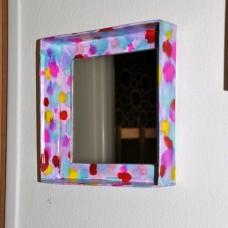 Štvorcové zrkadlo Pre malé slečny