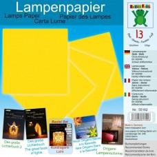 Papier na výrobu lámp Žltá