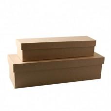 Papierová krabica Obdĺžnik 2 veľkosti