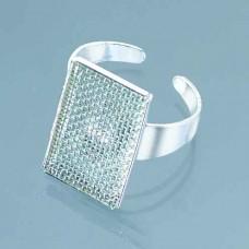 Prsteň so sitkom Obdĺžnik