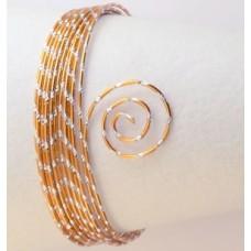 Drôt s diamantovým efektom Oranžová sýta