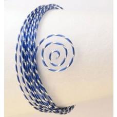 Drôt s diamantovým efektom Modrá kráľovská