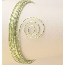 Drôt s diamantovým efektom Zelená mentolová