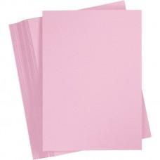 Jednofarebný papier Ružová svetlá A4 180 g/m2