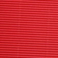 Vlnitý papier Tenké vlny Červená