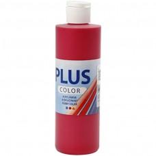 Akrylová farba Plus Color Berry red / Červená 250 ml