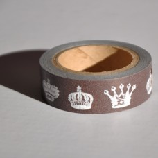 Lepiaca stuha Washi Kráľovská koruna