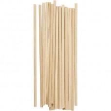 Drevené paličky 4 mm / 15 cm