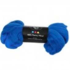 Vlna na plstenie Merino Cobalt blue / Modrá kobalt