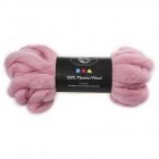 Vlna na plstenie Merino Light pink / Ružová svetlá