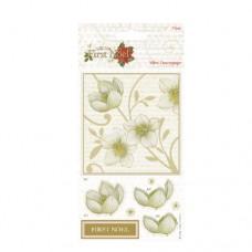 Dekupážny papier Mini kvety
