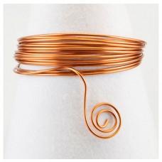 Hliníkový drôt Medená oranžová - Priemer Ø1 - Ø4 mm