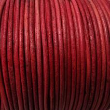 Kožená šnúrka Červená