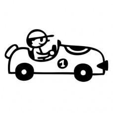 Penová pečiatka Auto