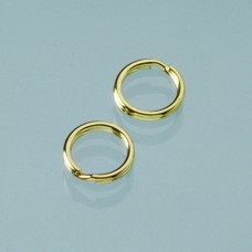 Dvojitý krúžok Zlatá 9 mm