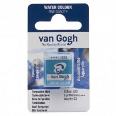 Akvarelová farba Van Gogh kocka Turquise bleu / Tyrkysová