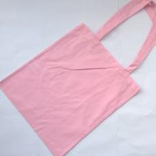 Bavlnená taška s dlhými ušami Ružová svetlá