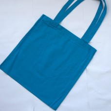 Bavlnená taška s dlhými ušami Modrá azúrová