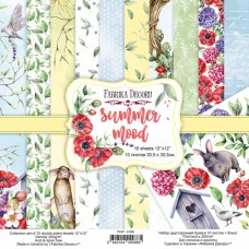 Fabrika Decoru obojstranný papier Summer mood 30x30 cm