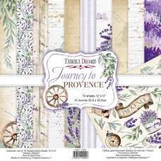 Fabrika Decoru obojstranný papier Journey to Provence 30x30 cm
