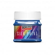 Farba na hodváb Pentart ľadová modrá