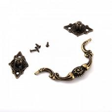 Kovová rúčka na šperkovnice Ozdobná