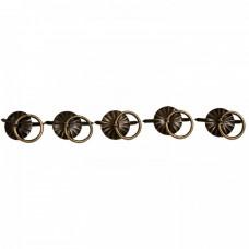Kovová rúčka na šperkovnice Zápich 5 ks