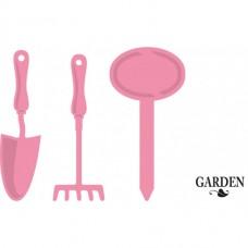 Marianne Design rezacia šablóna Záhradné náradie