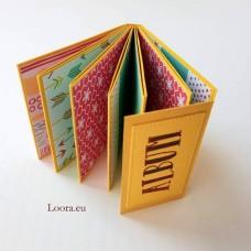 Mini Album na fotky Žltý