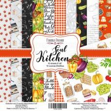 Fabrika Decoru obojstranný papier Soul kitchen 20x20 cm