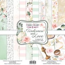 Fabrika Decoru obojstranný papier Tenderness and love 20x20 cm