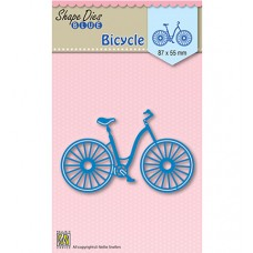 Nellies Choice rezacia šablóna Bicykel