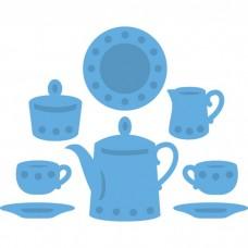 Marianne Design rezacia Servis na čaj