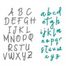 Sizzix Thinlits Plus vyrezávacia šablóna Písmo 2,2 cm
