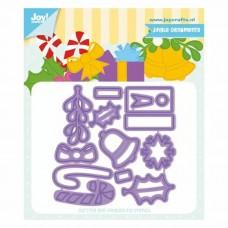Joy!Crafts vyrezávacia šablóna Jingle Ornaments Vianoce