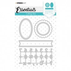 Studio Light rezacia šablóna Essentials Tabs Planner nr.359