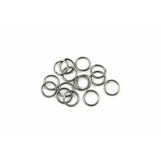 Spojovací krúžok 6 mm Hematit