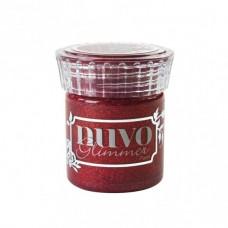 Tonic Studios Glimmer Paste Nuvo Garnet red/ glitrovaná pasta Červená