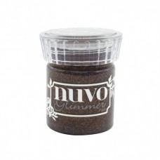 Tonic Studios Glimmer Paste Nuvo Rich Cocoa / glitrovaná pasta Hnedá