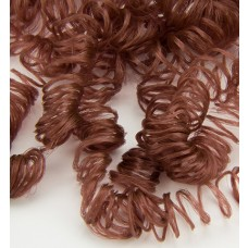 Umelé vlasy Mahagónová hnedá