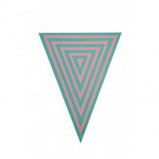 Sizzix Framelits Plus vyrezávacia šablóna Trojuholníky