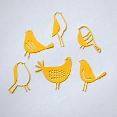 Výrezy Vtáčiky