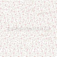 Vzorovaný papier A. Renke Záhrada z ruží