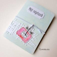 Zápisník Mint parfém A6