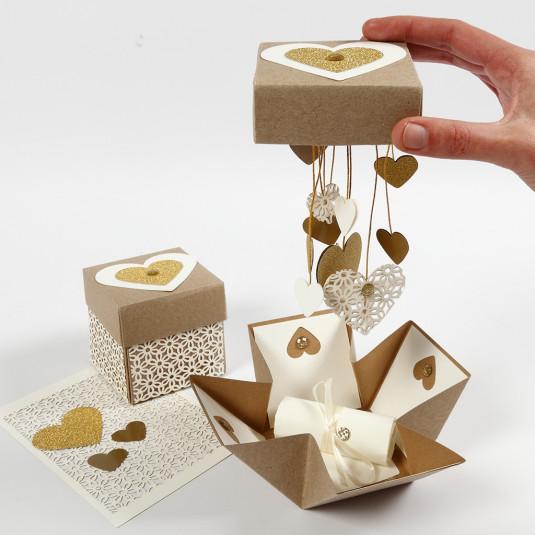 Darčeková krabička s prekvapením Explosion box